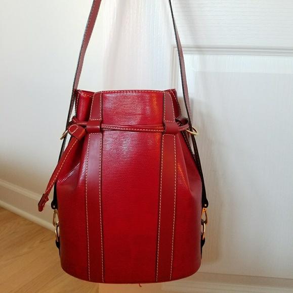 7ed74fbf65a7 Lancel Handbags - Vintage Lancel Elsa Bucket Bag